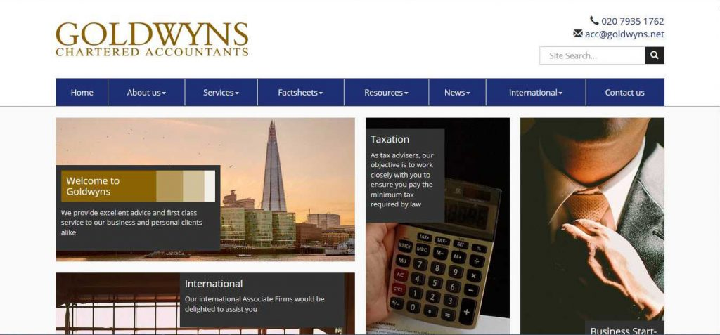 Goldwyns Chartered Accountants London